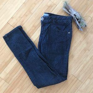 Jolt Polka Dot Skinny Jeans